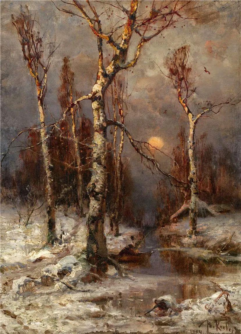 高对比度的美学手法,神秘浪漫的俄罗斯风景!插图87