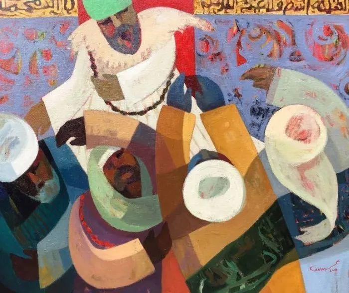 埃及   Mohamed Abou Elwafa画选插图11