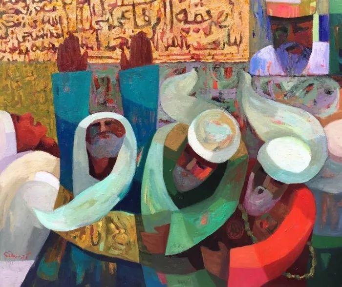 埃及   Mohamed Abou Elwafa画选插图13