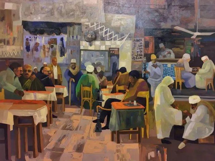 埃及   Mohamed Abou Elwafa画选插图15