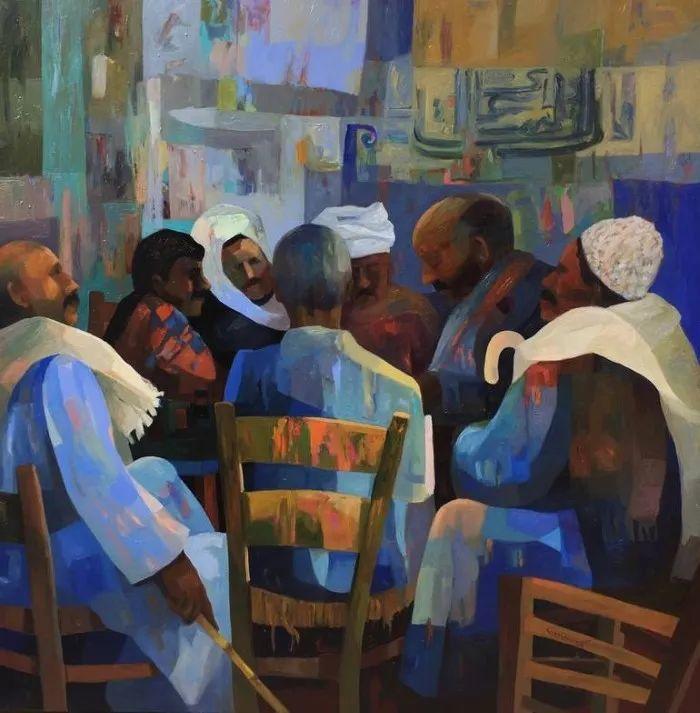 埃及   Mohamed Abou Elwafa画选插图17