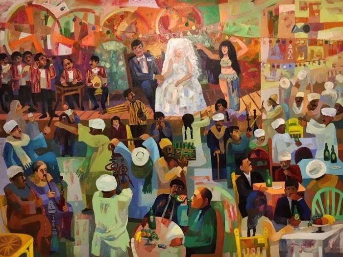 埃及   Mohamed Abou Elwafa画选插图19