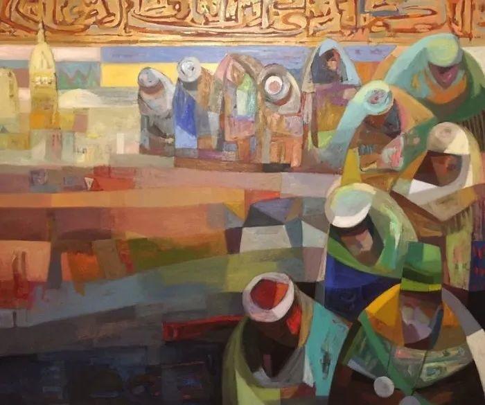 埃及   Mohamed Abou Elwafa画选插图25