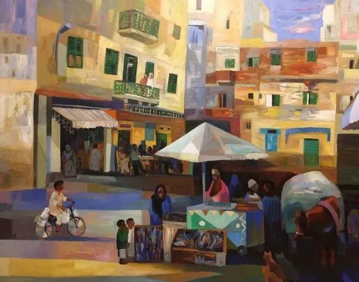 埃及   Mohamed Abou Elwafa画选插图31