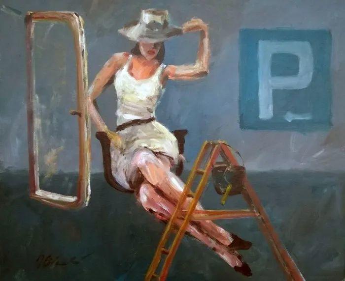 波兰艺术家杰西·奇切奇作品选插图7