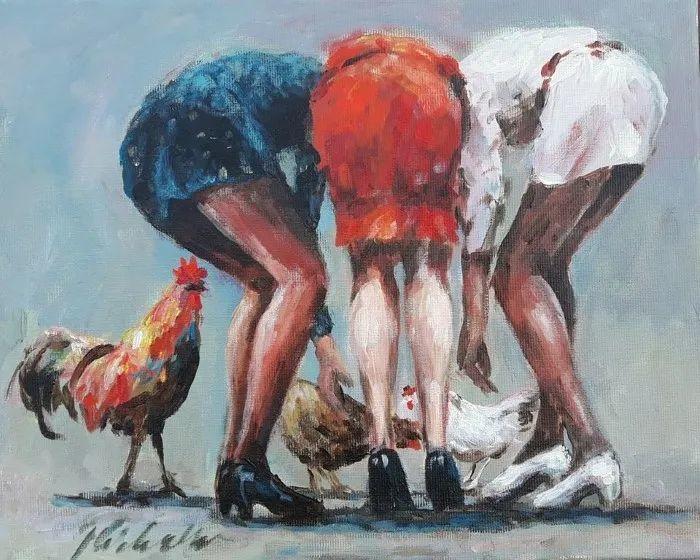 波兰艺术家杰西·奇切奇作品选插图33