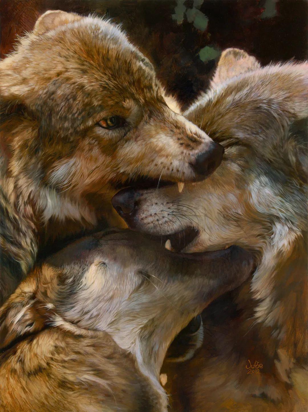 朱莉·贝尔笔下的狼插图3