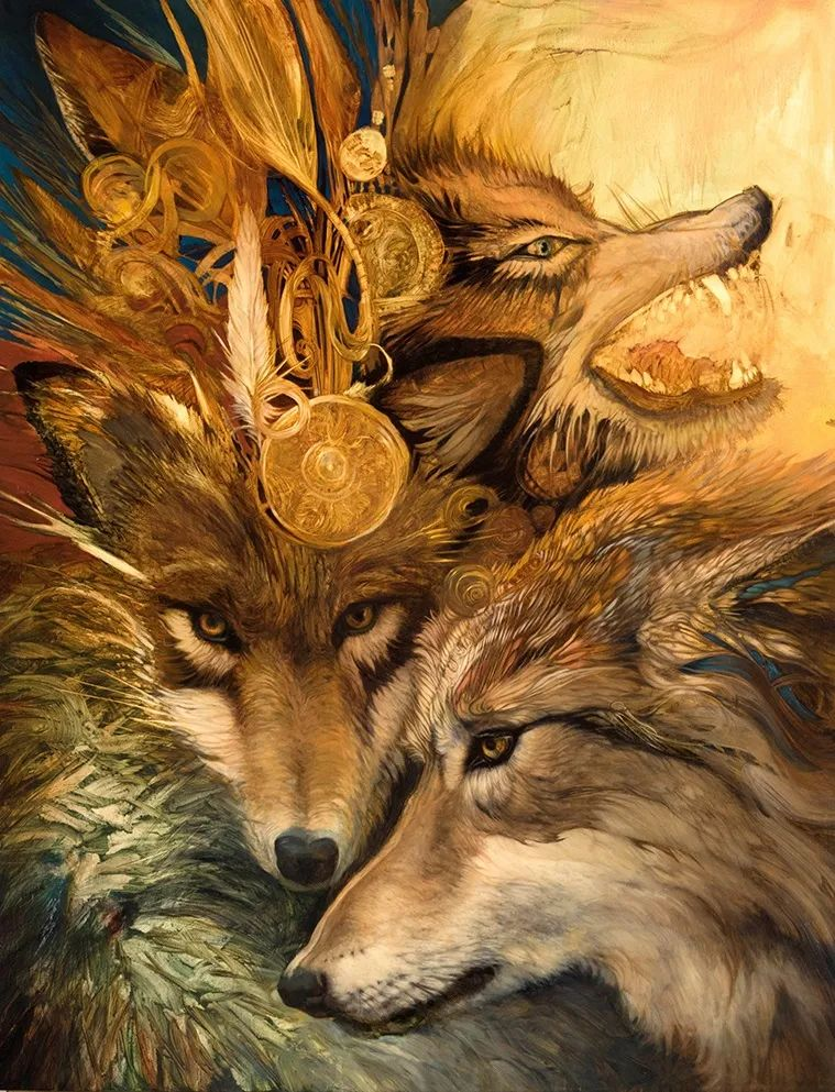 朱莉·贝尔笔下的狼插图29