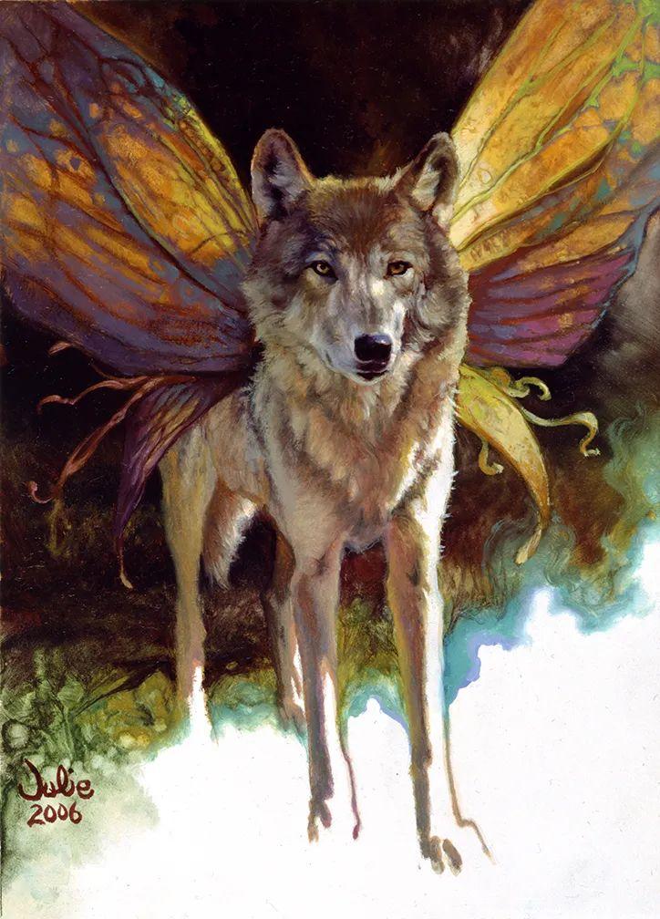 朱莉·贝尔笔下的狼插图39