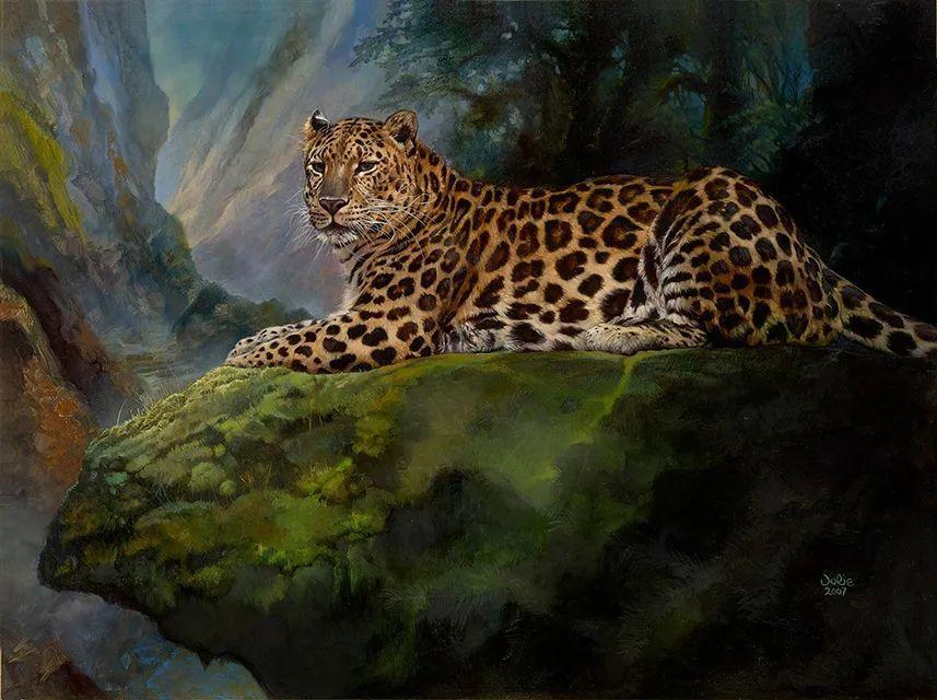 朱莉·贝尔笔下的虎、狮、大象等插图19