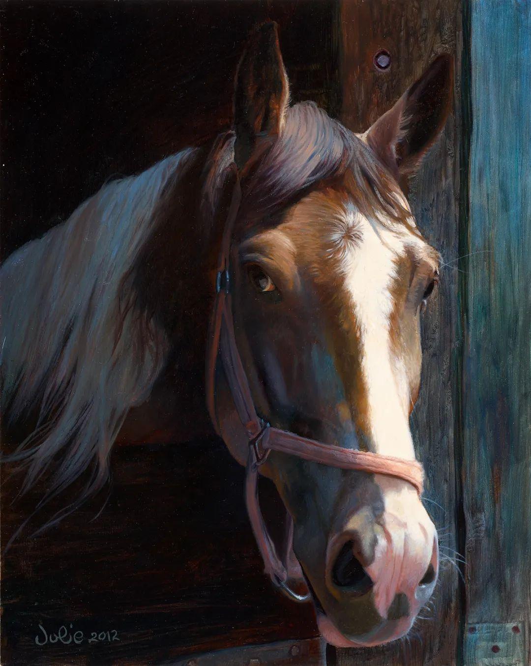 朱莉·贝尔笔下的马插图3