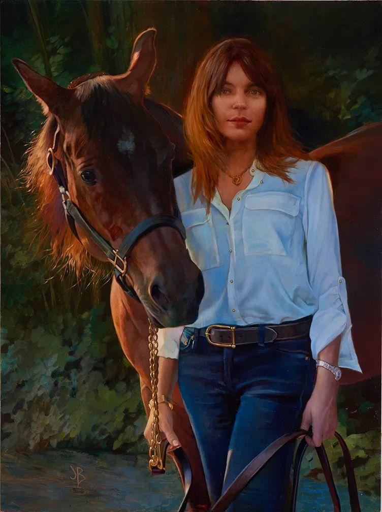朱莉·贝尔笔下的马插图7