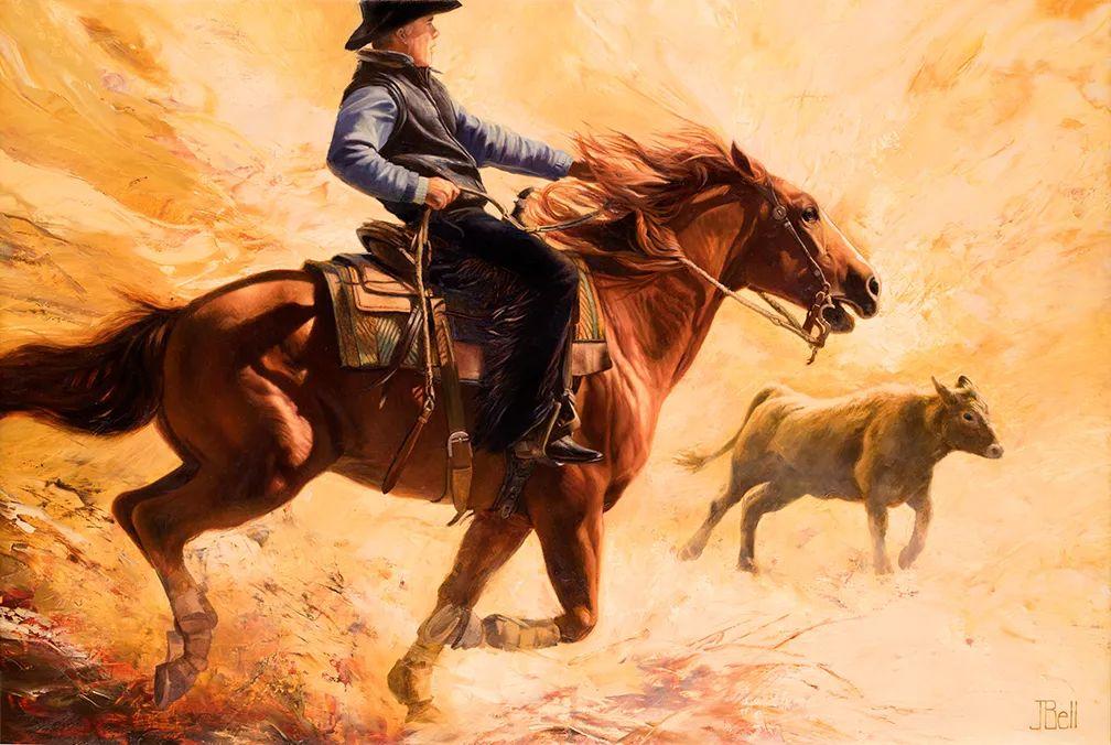 朱莉·贝尔笔下的马插图9