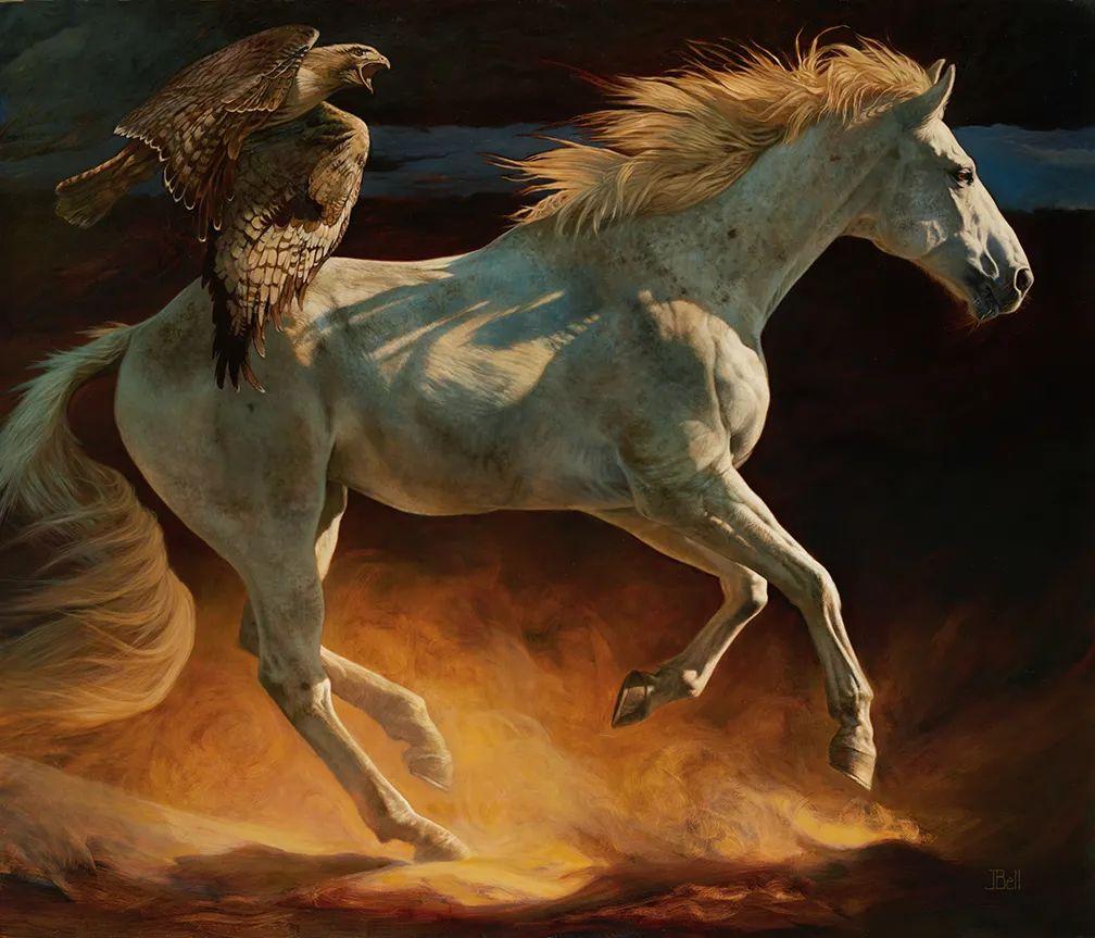 朱莉·贝尔笔下的马插图13