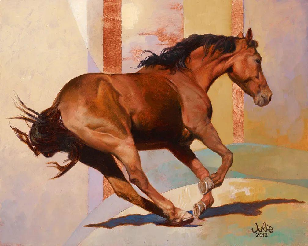 朱莉·贝尔笔下的马插图17