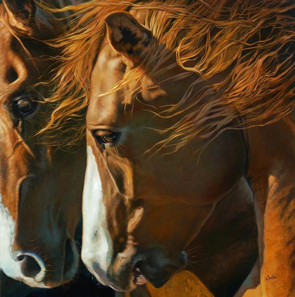 朱莉·贝尔笔下的马插图23