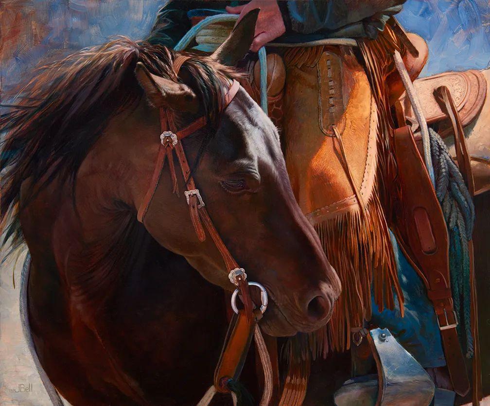 朱莉·贝尔笔下的马插图27