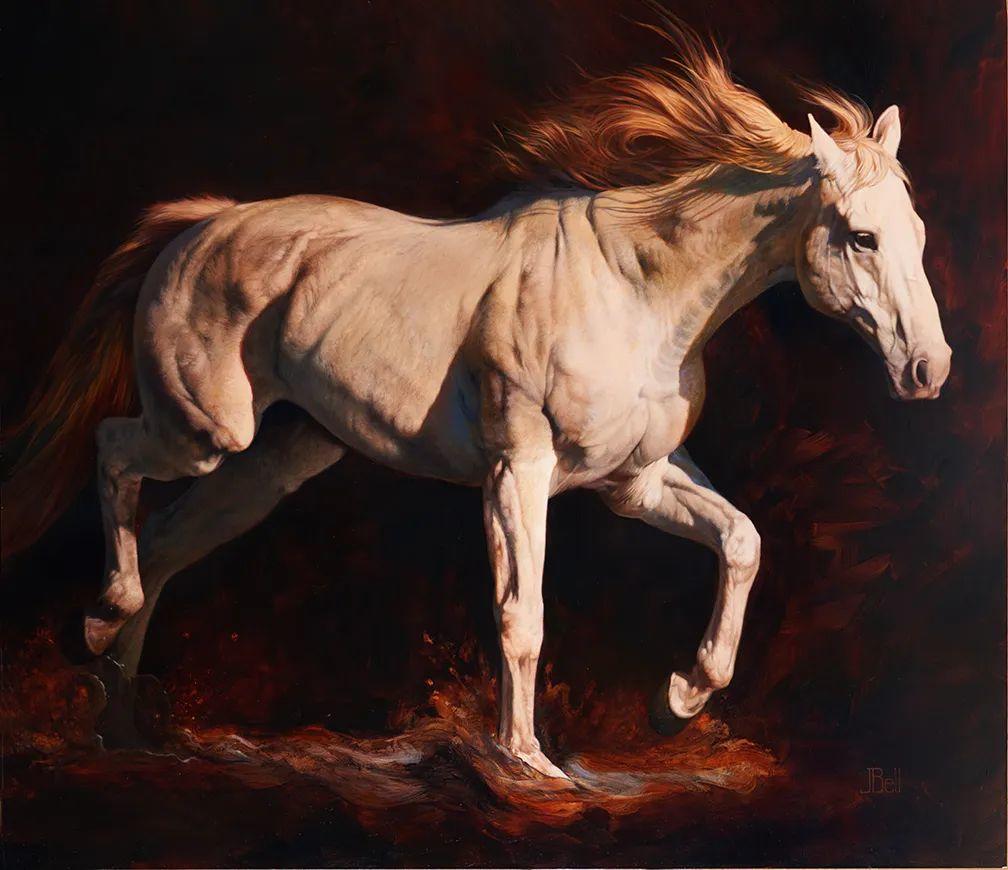 朱莉·贝尔笔下的马插图29