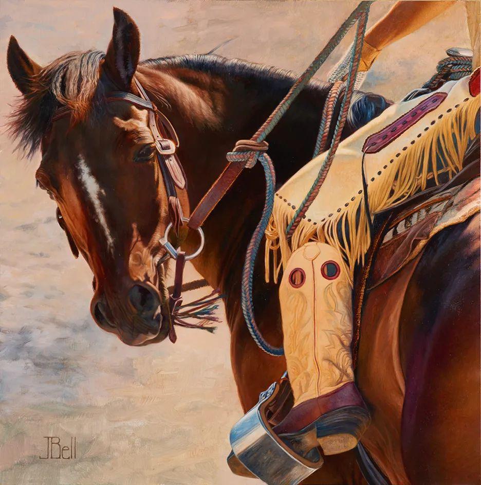 朱莉·贝尔笔下的马插图31