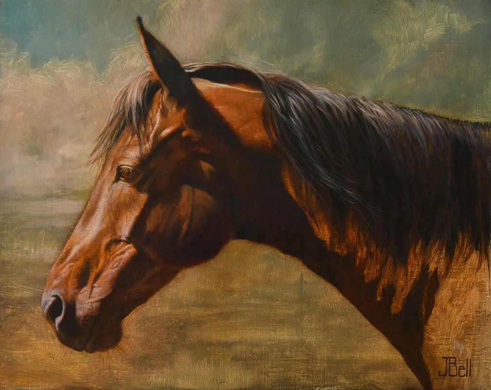 朱莉·贝尔笔下的马插图33