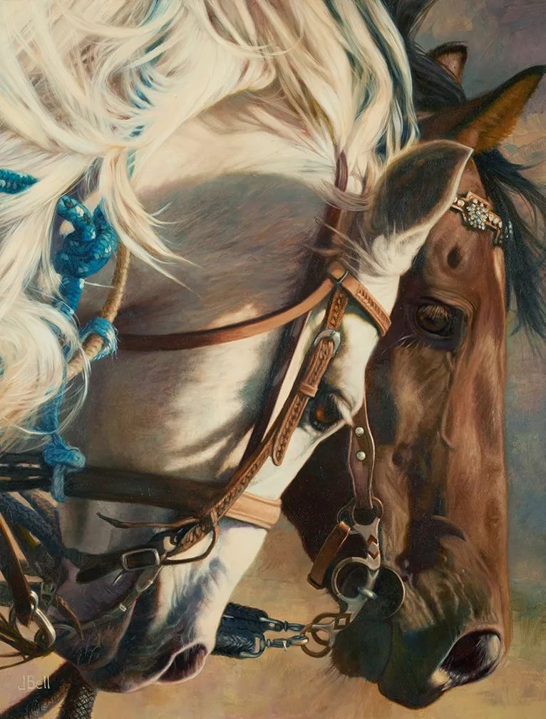 朱莉·贝尔笔下的马插图37