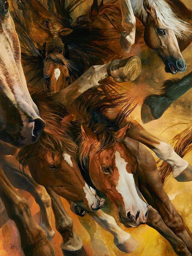 朱莉·贝尔笔下的马插图41