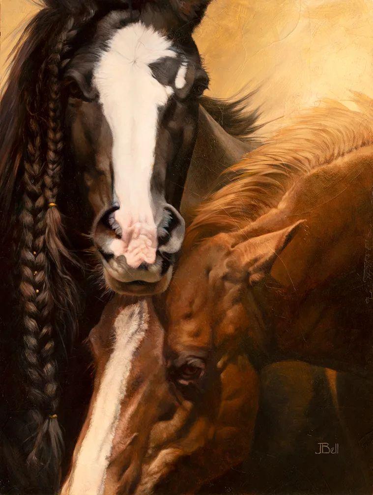 朱莉·贝尔笔下的马插图45