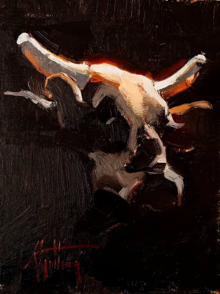 羚羊与耗牛,美国女画家阿比盖尔·古廷作品(下)插图61