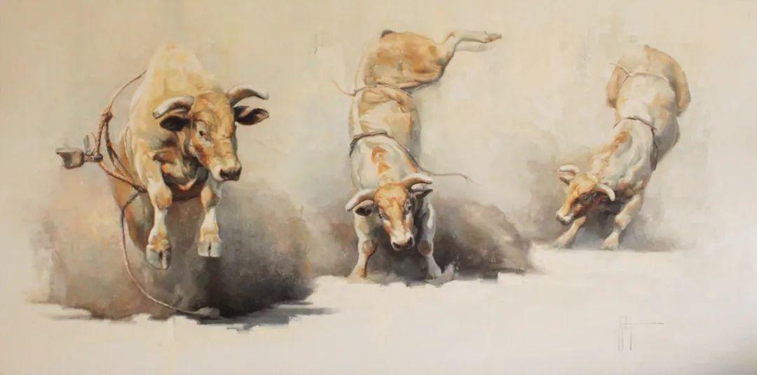 羚羊与耗牛,美国女画家阿比盖尔·古廷作品(下)插图67