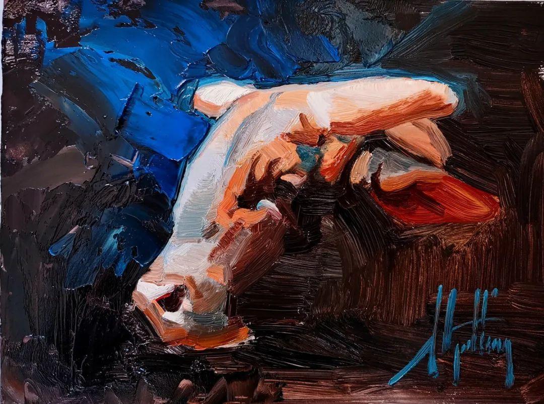 羚羊与耗牛,美国女画家阿比盖尔·古廷作品(下)插图87
