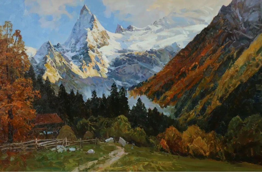 永恒的自然美,俄罗斯画家亚历山大·巴比奇插图1