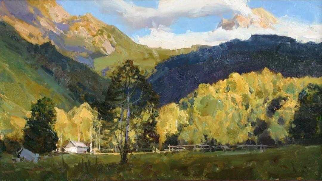 永恒的自然美,俄罗斯画家亚历山大·巴比奇插图3