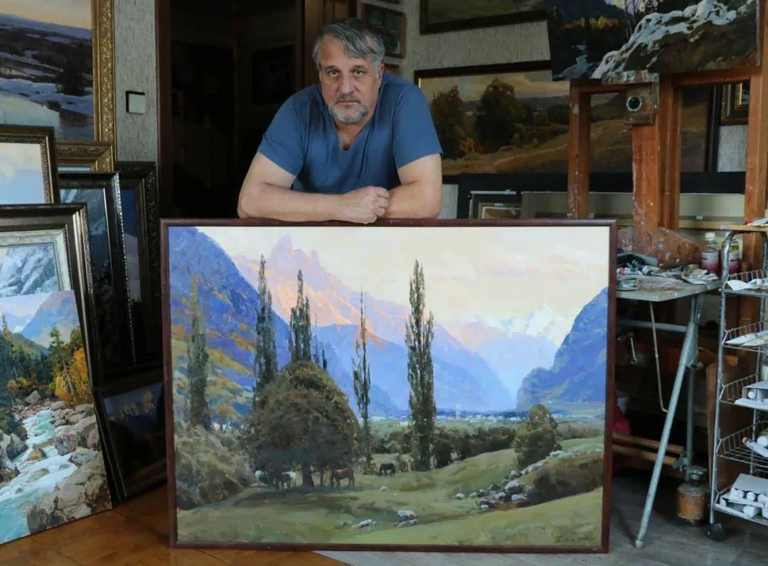 永恒的自然美,俄罗斯画家亚历山大·巴比奇插图7