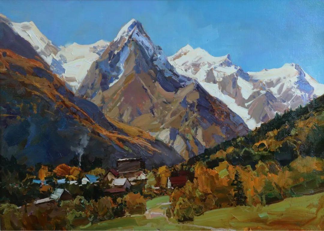 永恒的自然美,俄罗斯画家亚历山大·巴比奇插图9