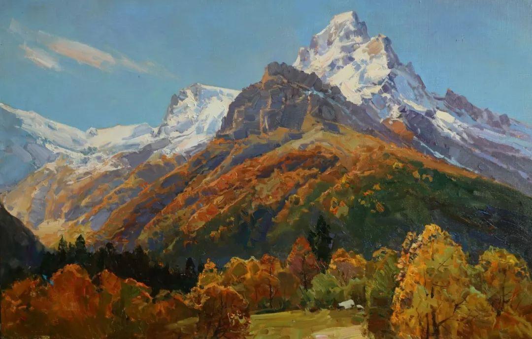 永恒的自然美,俄罗斯画家亚历山大·巴比奇插图13