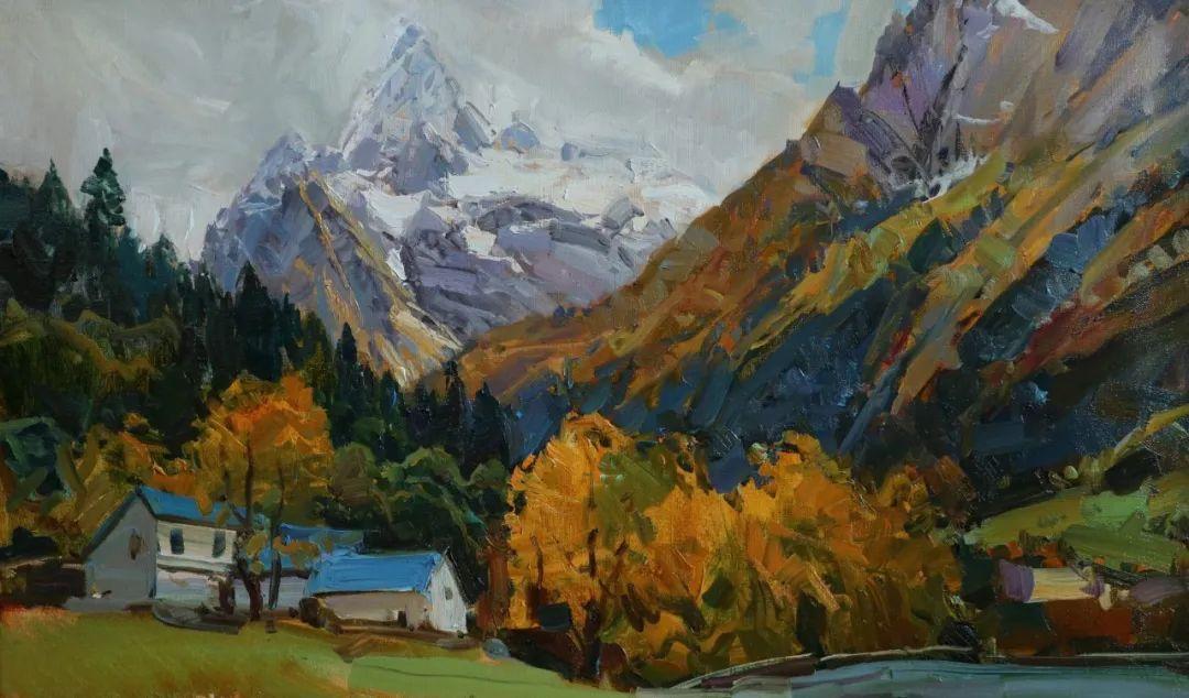 永恒的自然美,俄罗斯画家亚历山大·巴比奇插图17