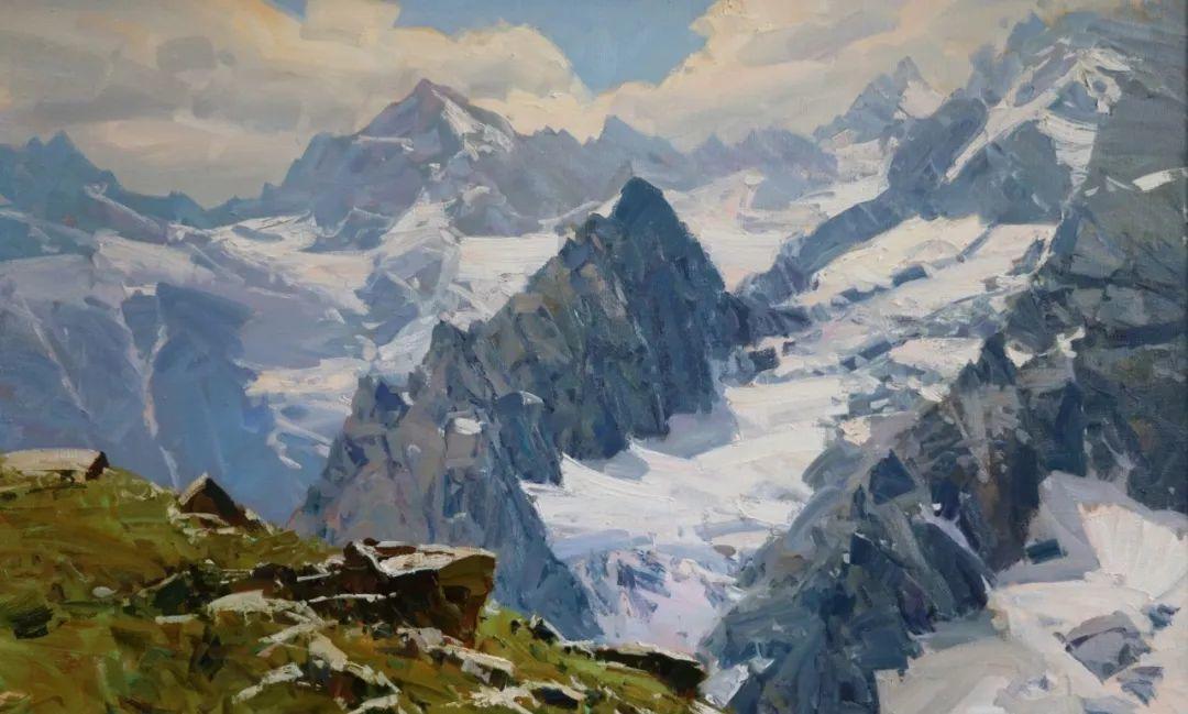 永恒的自然美,俄罗斯画家亚历山大·巴比奇插图19