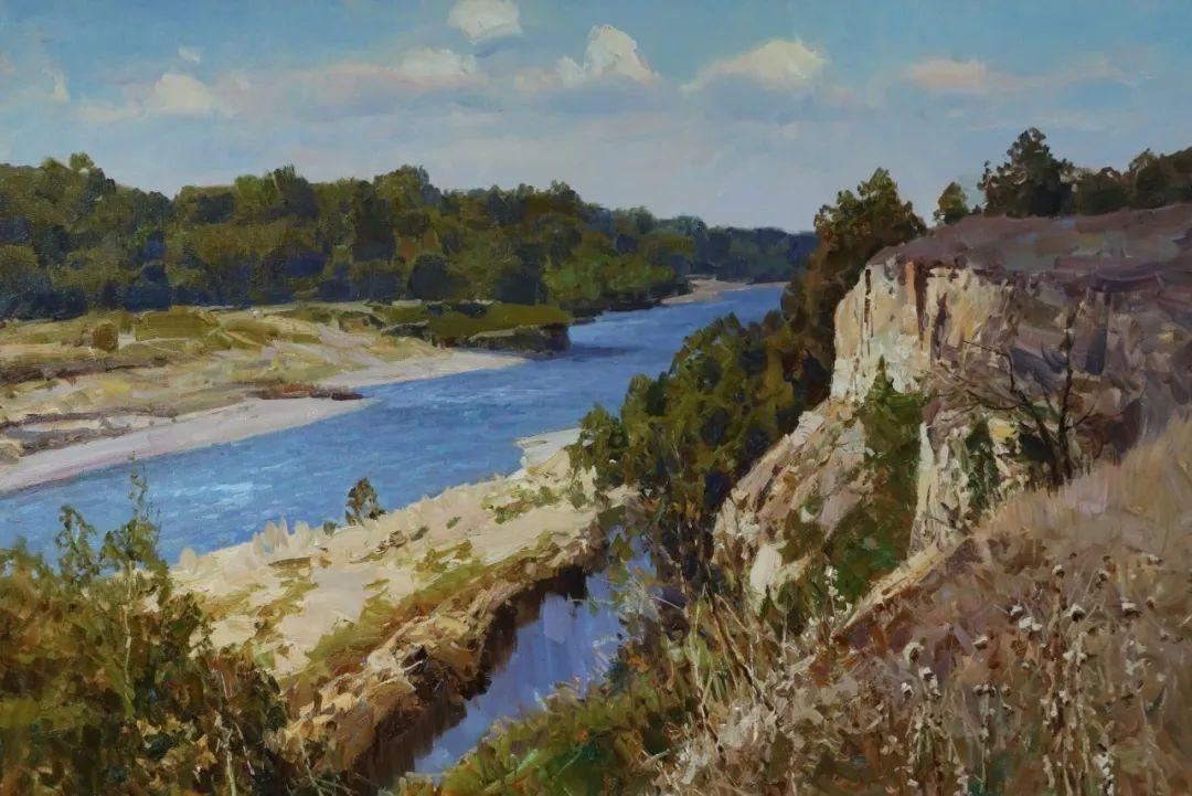 永恒的自然美,俄罗斯画家亚历山大·巴比奇插图23