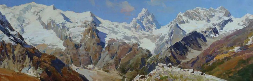 永恒的自然美,俄罗斯画家亚历山大·巴比奇插图25