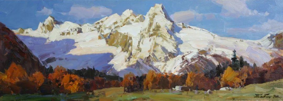 永恒的自然美,俄罗斯画家亚历山大·巴比奇插图29