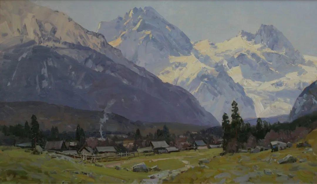 永恒的自然美,俄罗斯画家亚历山大·巴比奇插图33