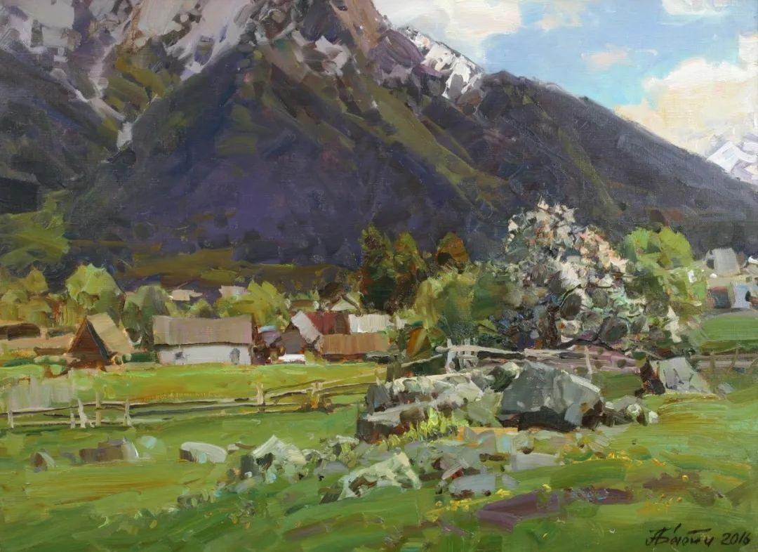 永恒的自然美,俄罗斯画家亚历山大·巴比奇插图39