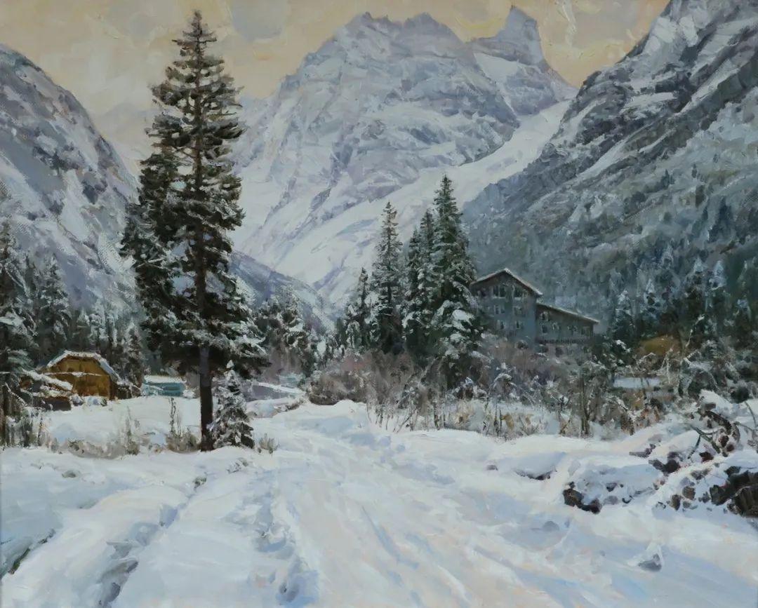 永恒的自然美,俄罗斯画家亚历山大·巴比奇插图41