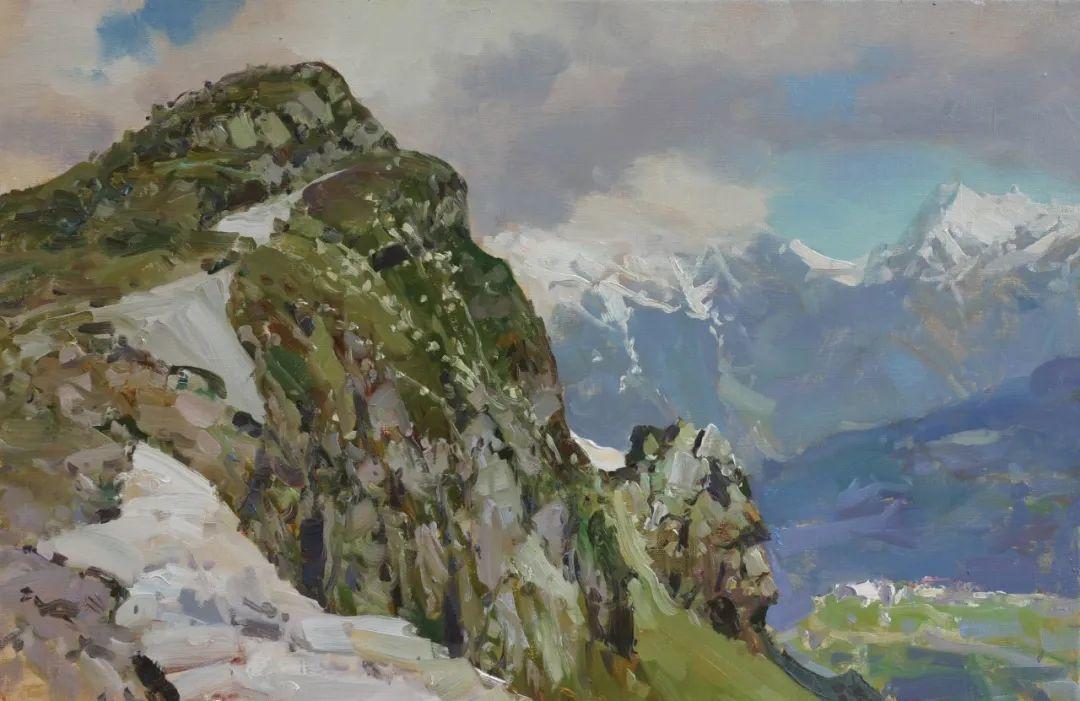 永恒的自然美,俄罗斯画家亚历山大·巴比奇插图43