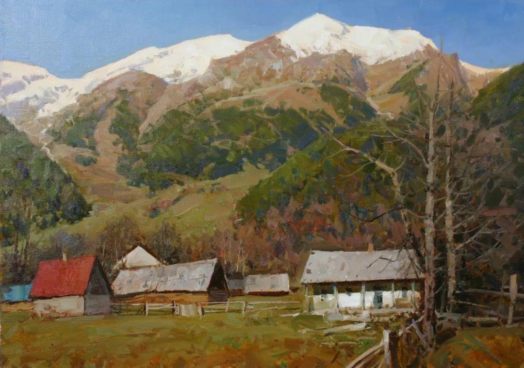 永恒的自然美,俄罗斯画家亚历山大·巴比奇插图47
