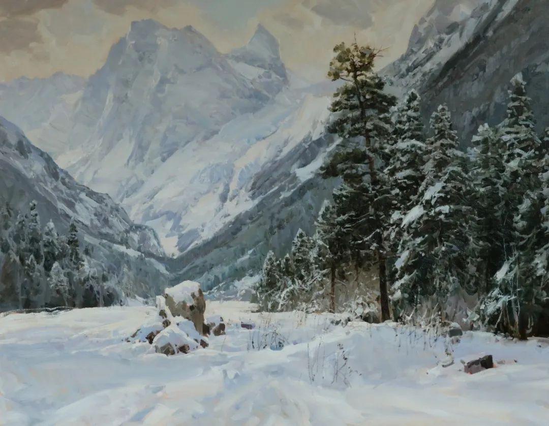 永恒的自然美,俄罗斯画家亚历山大·巴比奇插图49