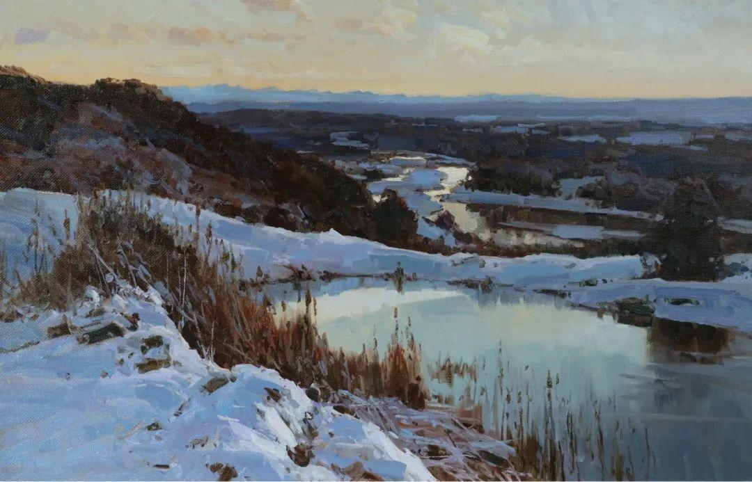 永恒的自然美,俄罗斯画家亚历山大·巴比奇插图53