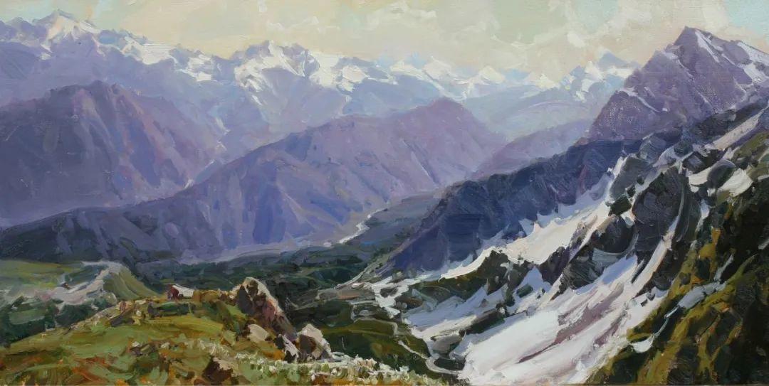 永恒的自然美,俄罗斯画家亚历山大·巴比奇插图55
