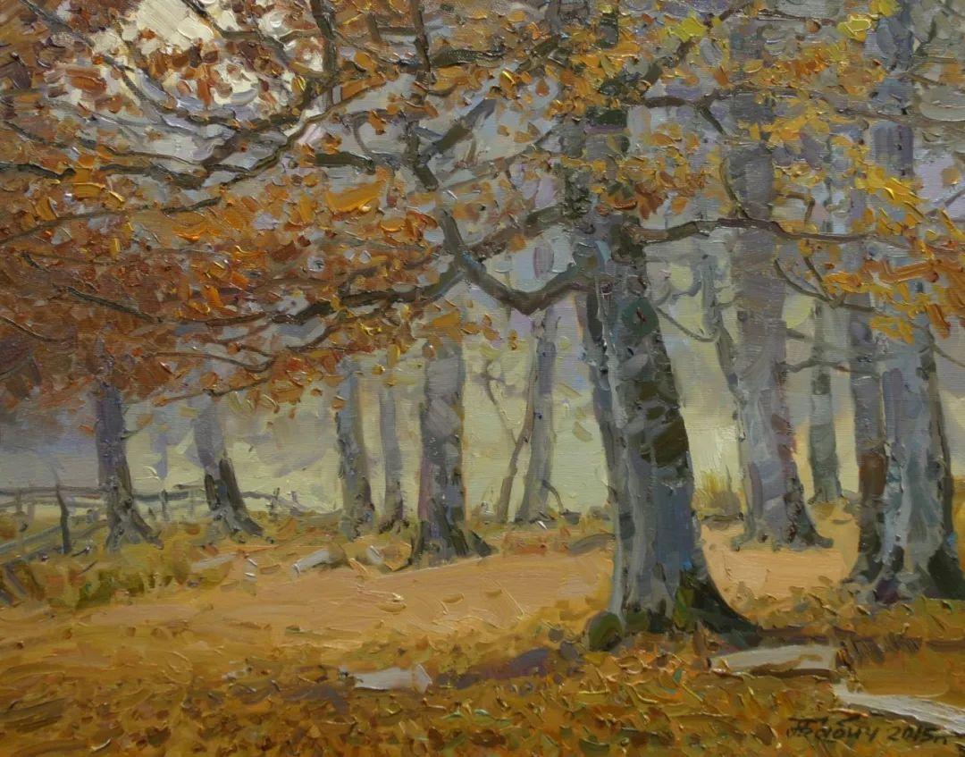 永恒的自然美,俄罗斯画家亚历山大·巴比奇插图59