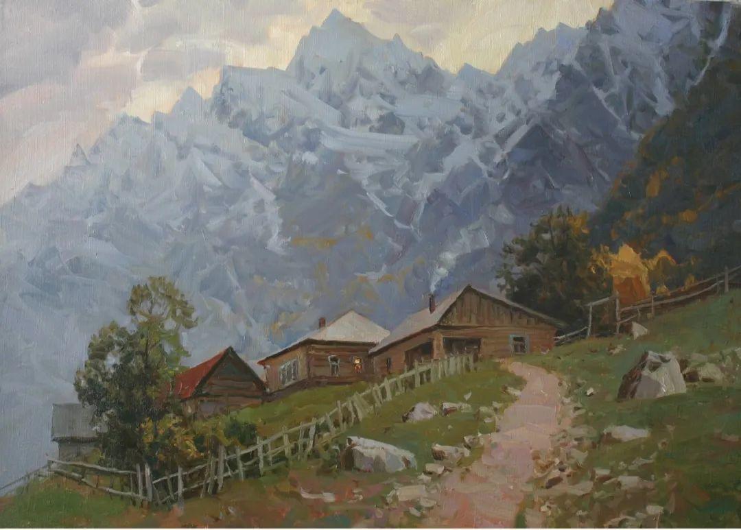 永恒的自然美,俄罗斯画家亚历山大·巴比奇插图63
